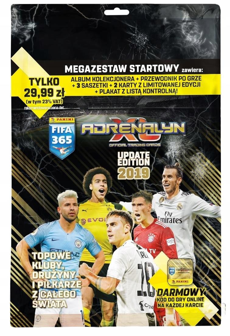 Panini FIFA 365 Adrenalyn Обновление 2019 Мега Набор доставка товаров из Польши и Allegro на русском