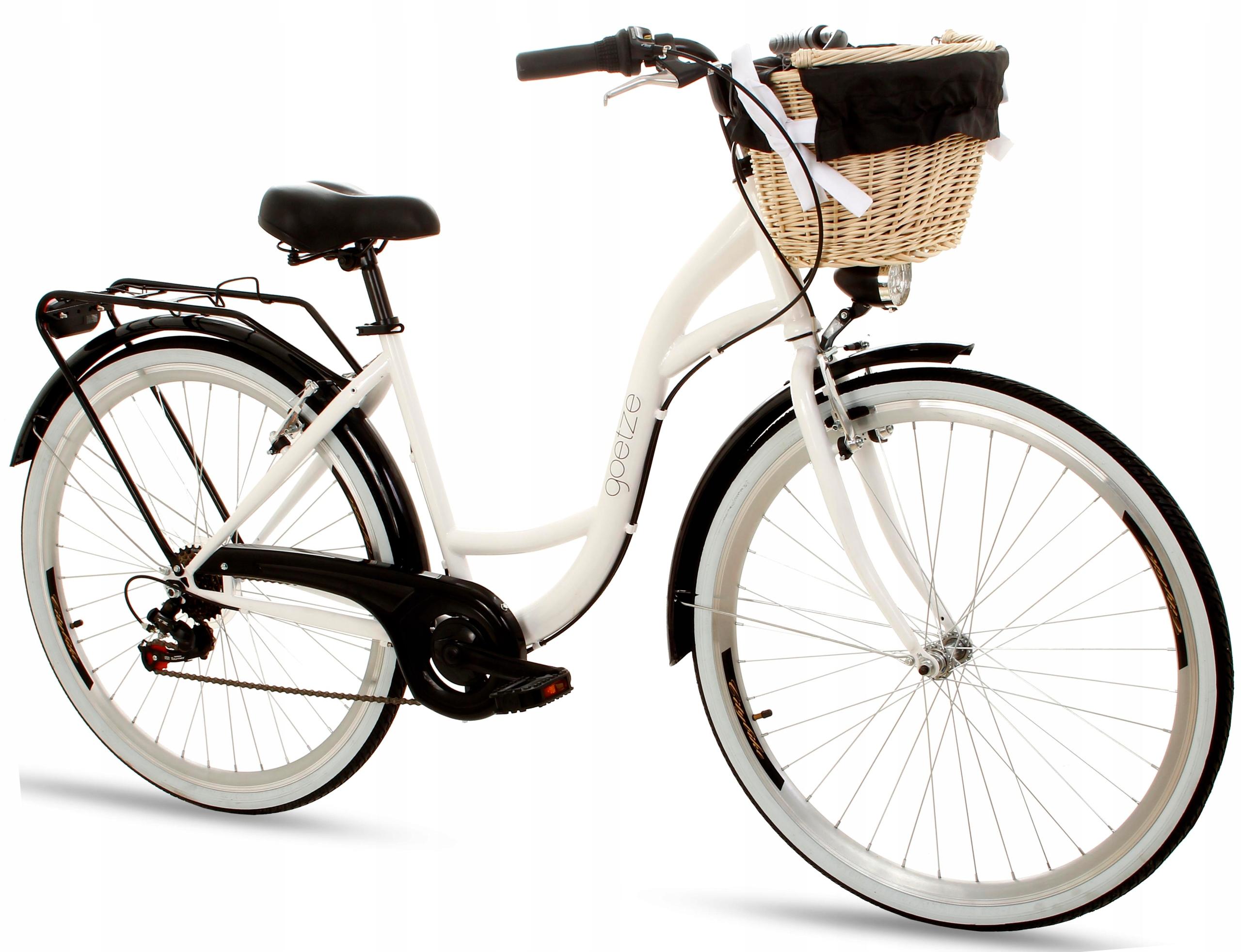 Женские велосипед городской GOETZE 28 Настроение 6b Shiman корзину