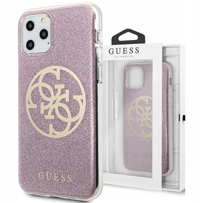Etui do iPhone 11 Pro Max, Guess Circle case cover