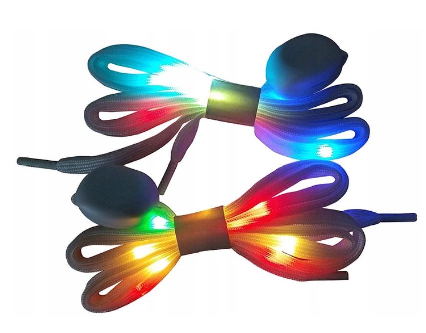 Купить sznurówki LED светится 3 TRYBY синие на Eurozakup - цены и фото - доставка из Польши и стран Европы в Украину.