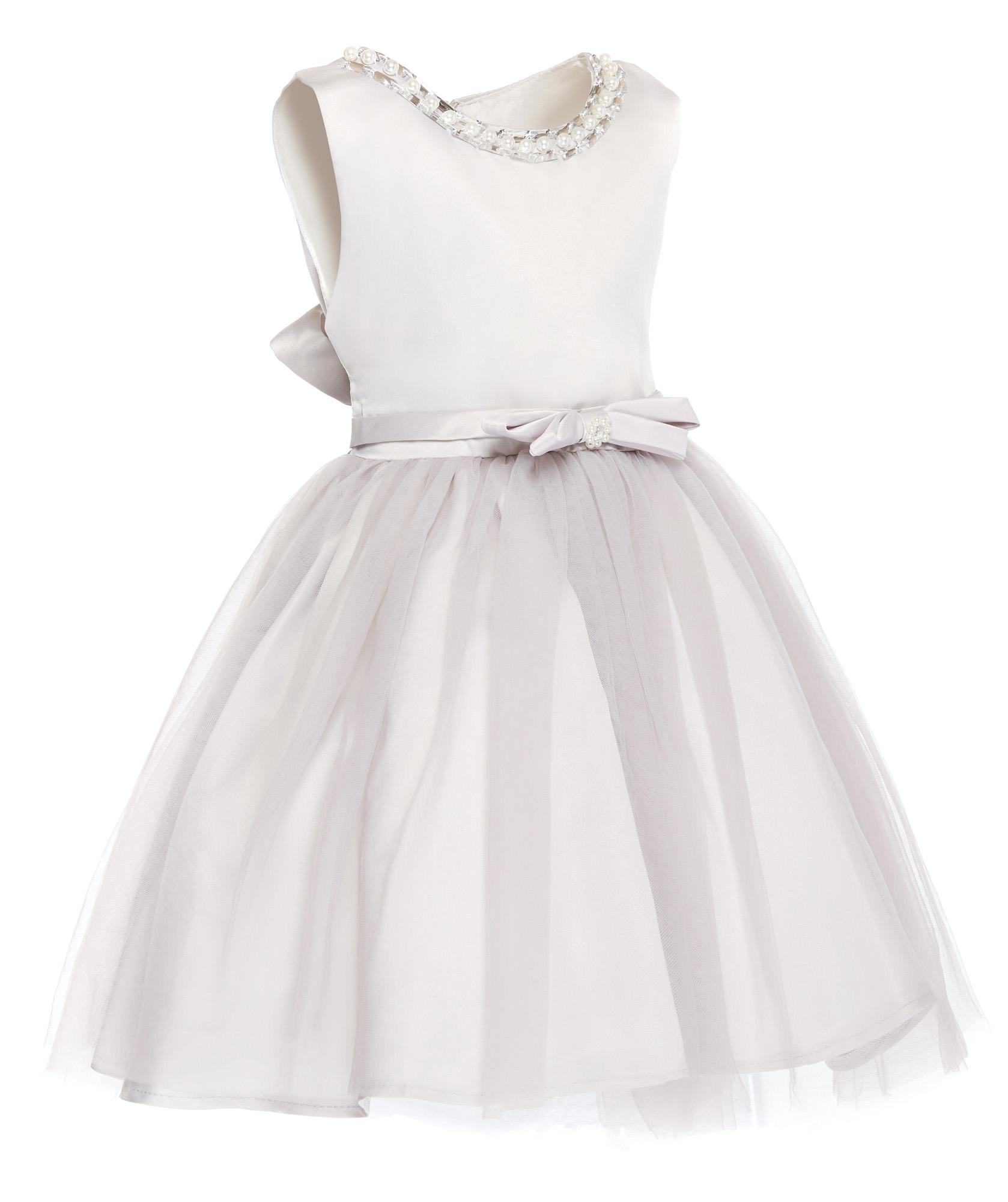 99a92e936c Wyjątkowa Piękna srebrna sukienka wesele 158 164 7322436885 - Allegro.pl