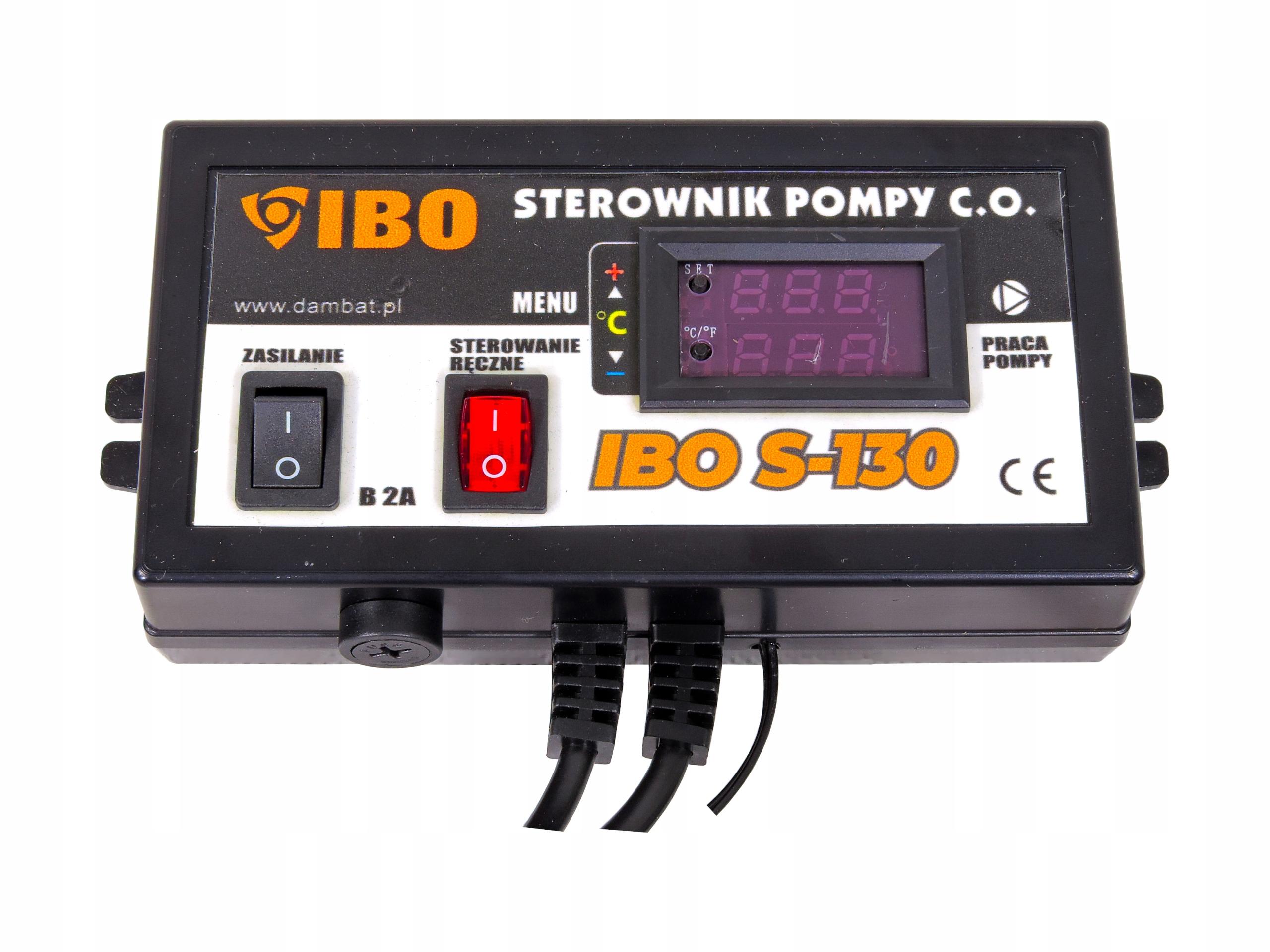 STEROWNIK POMPY C.O ELEKTRONICZNY REGULATOR S-130