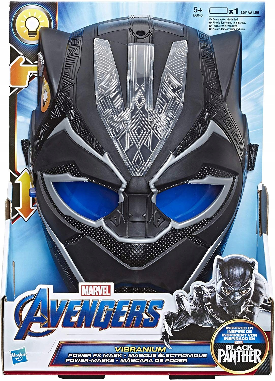 Maska Black Panther Vibranium FX Avengers Black