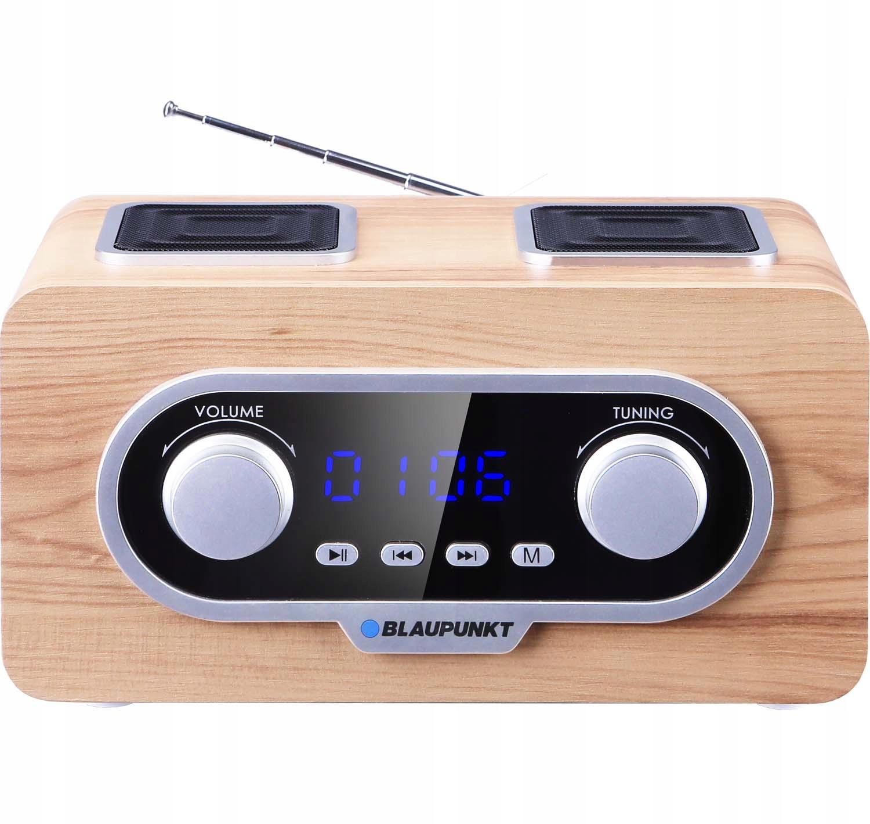 BLAUPUNKT PP5.2CR MP3 Rádio MP3, USB, FM rádio, Budík Retro