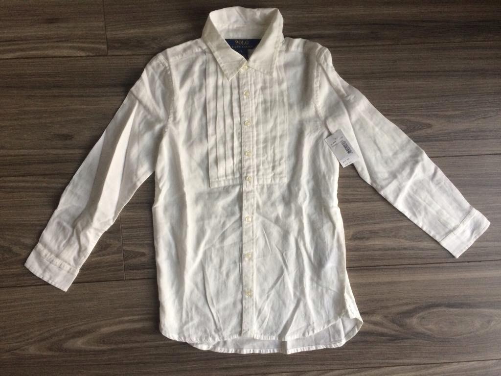 POLO RALPH LAUREN tričko, BIELA 6 ROKOV 116 NOVÉ