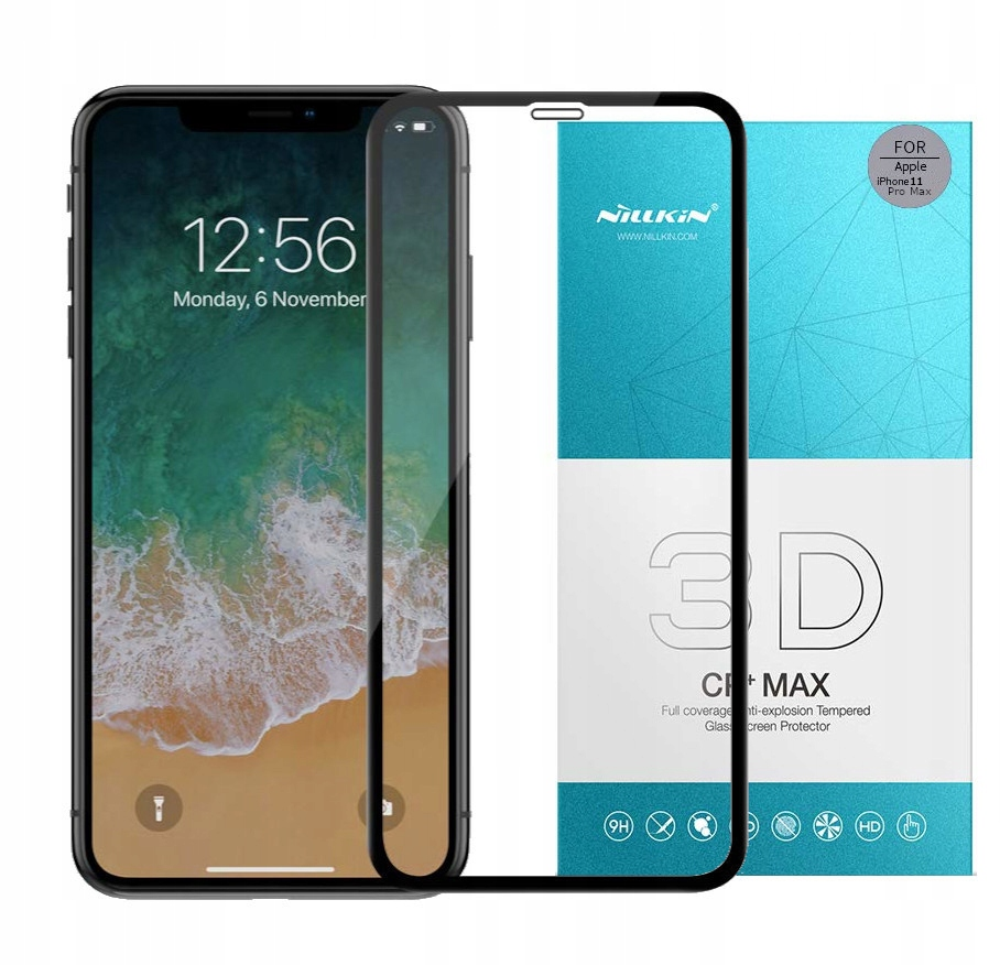Szkło 3D Nillkin Cp+max do iPhone 11 Pro Max