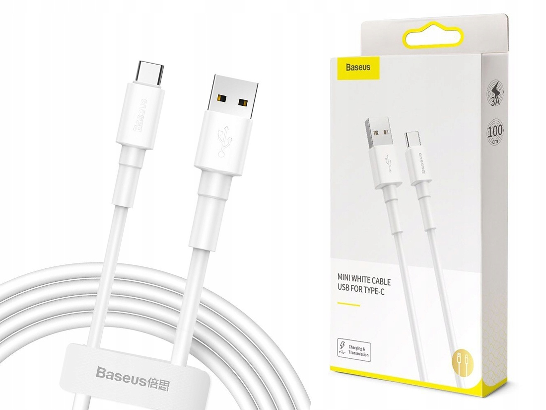 Mocny Kabel 100CM - Usb-c Type-c Do Galaxy A70/A71