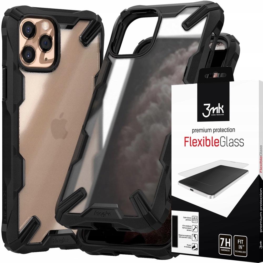 Etui Ringke Fusion-x Iphone 11 Pro 5,8 + Szkło 3MK