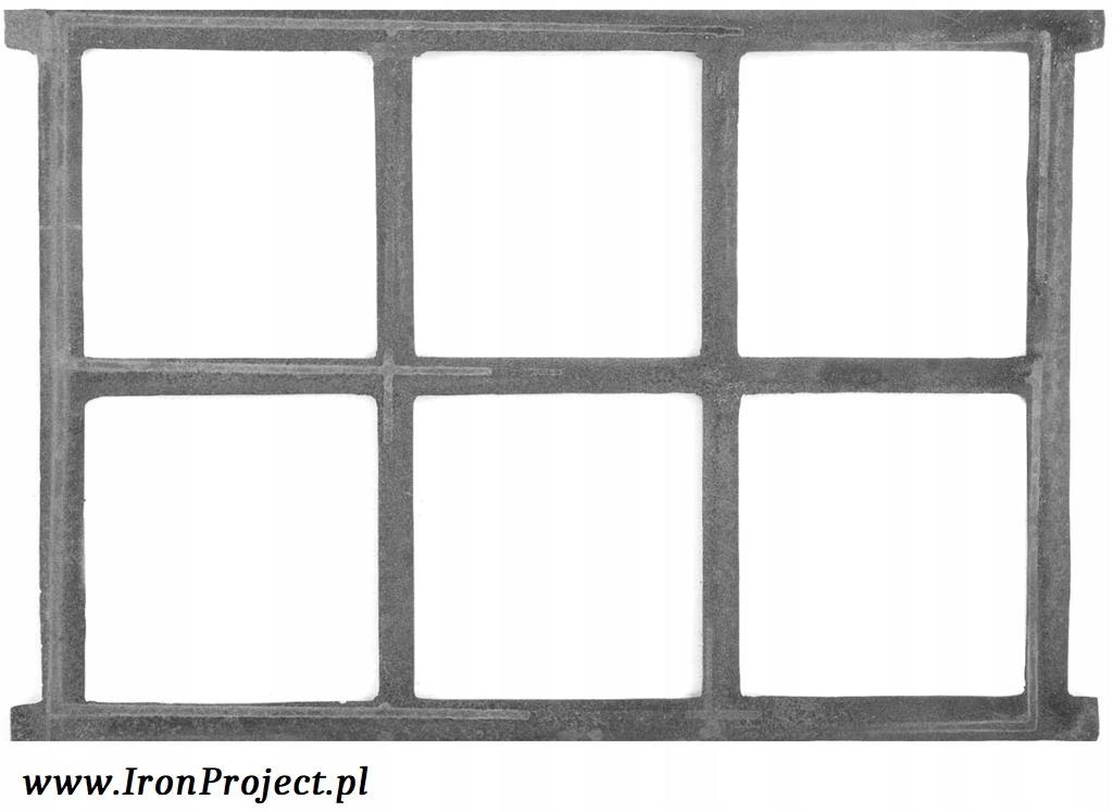 NOVÉ okno liatiny retro 67,5x48,5 cm