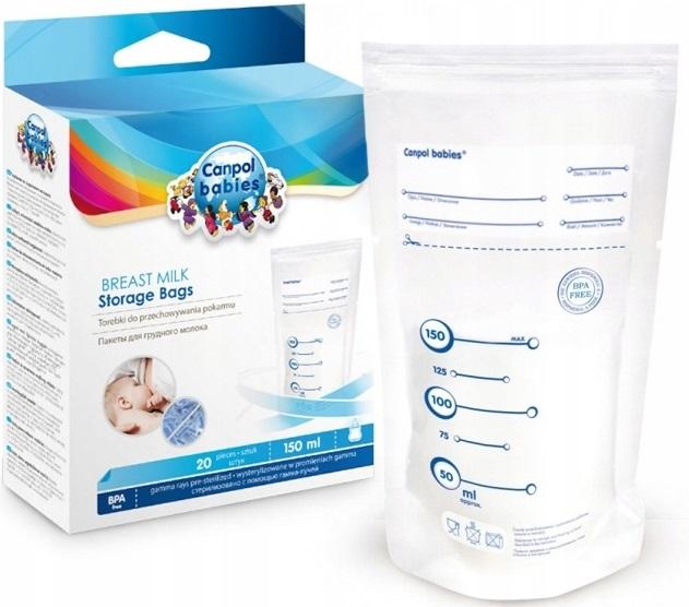 Canpolové tašky vrecká na potravinárske mlieko 70/001