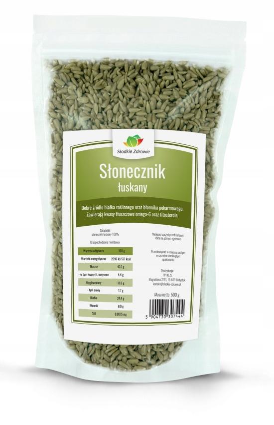 Item SUNFLOWER seeds HULLED 1KG natural BRIGHT 100%