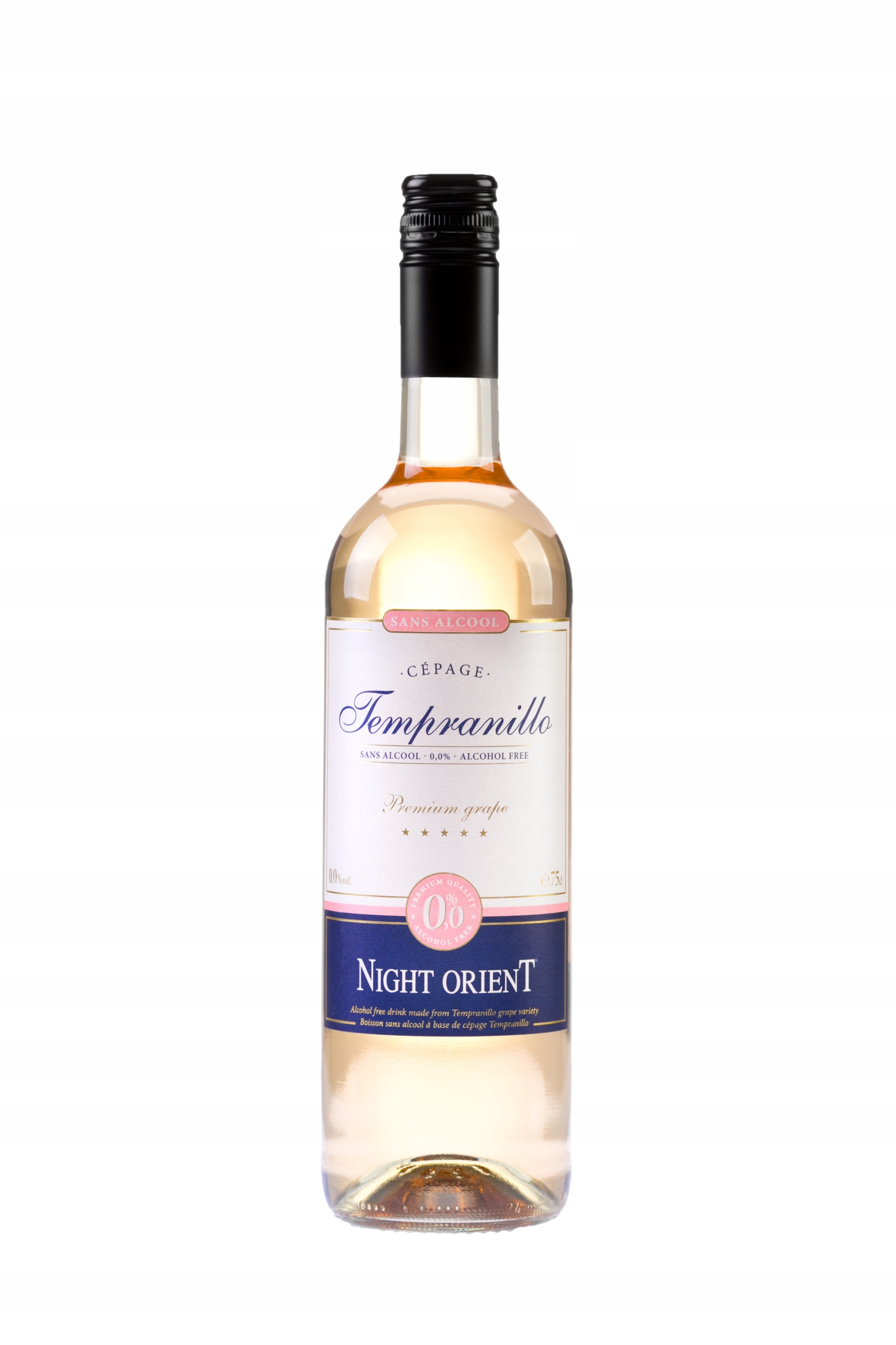 NIGHT ORIENT Безалкогольное вино 0% Темпранильо