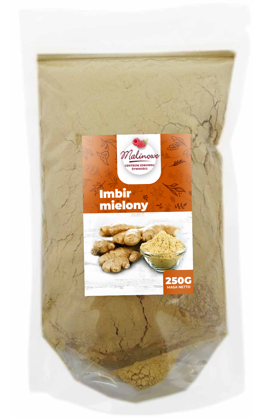 Item GINGER GROUND 250G WITHOUT ADDITIVES, HIGH QUALITY