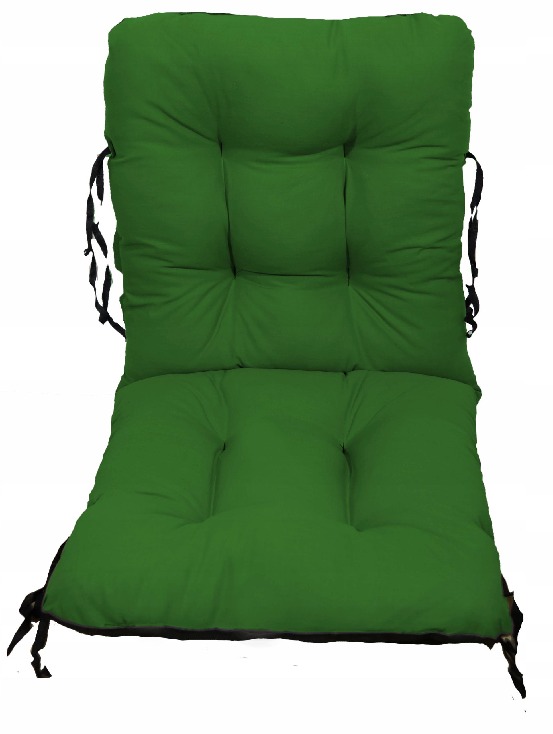 Садовое кресло подушка шезлонг 48x48x48 зеленый