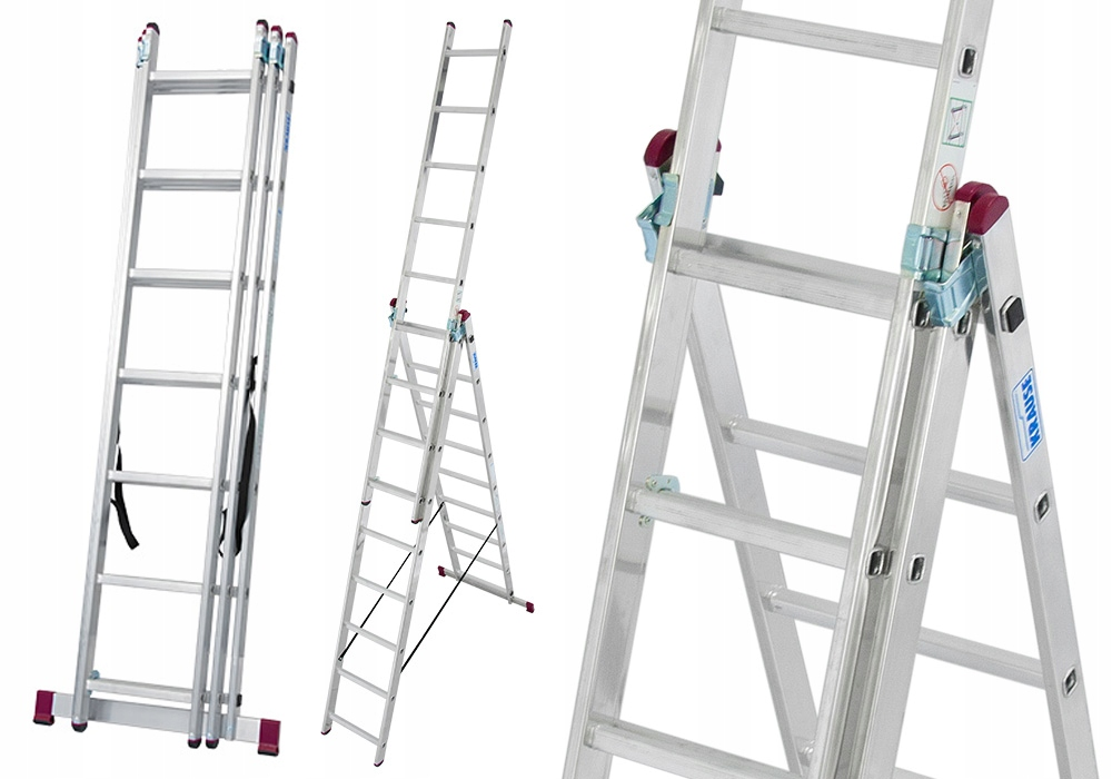 Лестница алюминиевая 3x7 Краузе CORDA 5 ,40м 10377