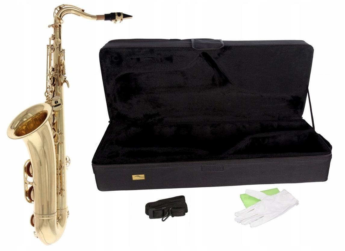 Купить Саксофон тенор B Concert M-tunes Золотой КОМПЛЕКТ! на Otpravka - цены и фото - доставка из Польши и стран Европы в Украину.