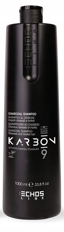 KARBON szampon z węglem aktywnym ECHOSLINE 1000ml