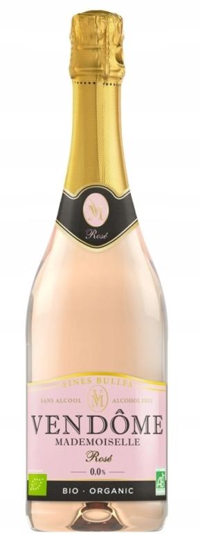 вино Безалкогольные напитки Vendome Rose Игристое 750 мл BIO