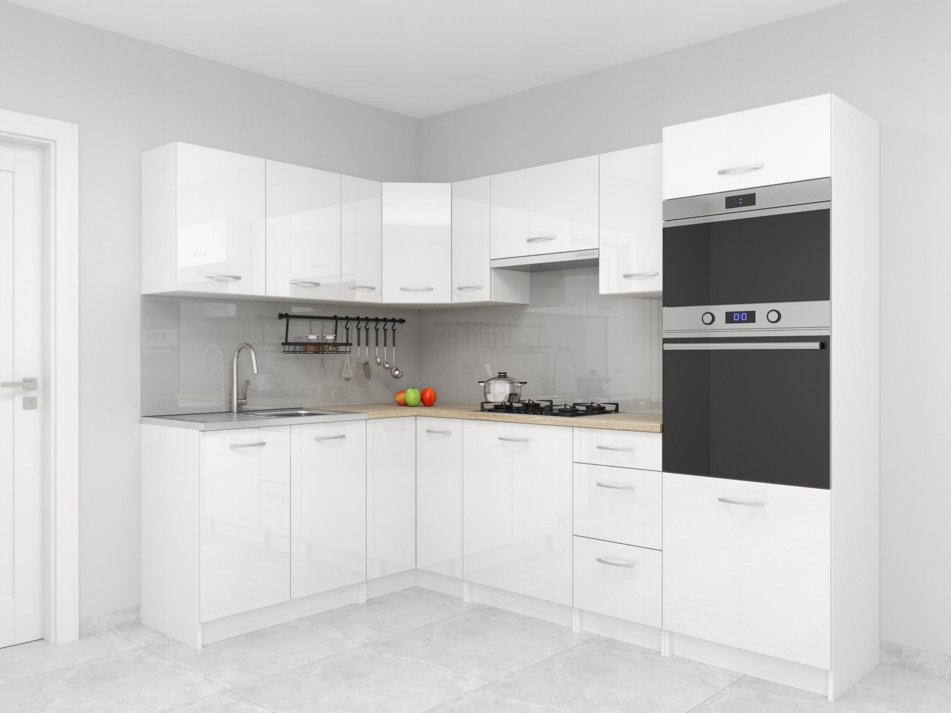 Комплект кухонной мебели Санкт-Петербург Уголок ГЛОСС