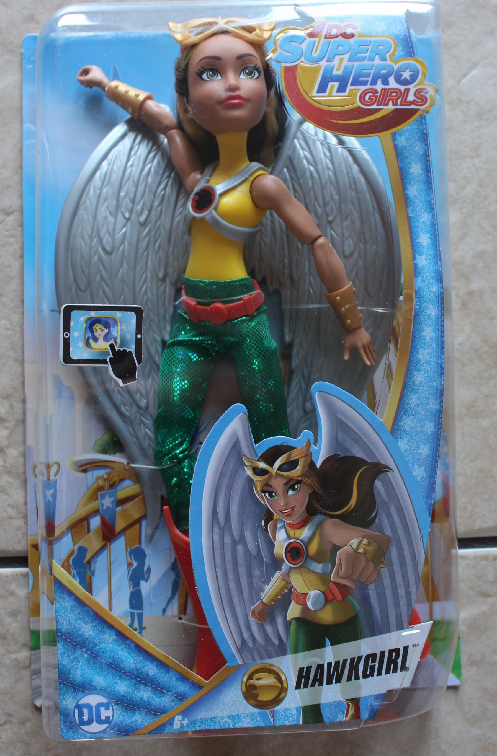 DC SUPER HERO GIRLS HAWKGIRL MATTEL