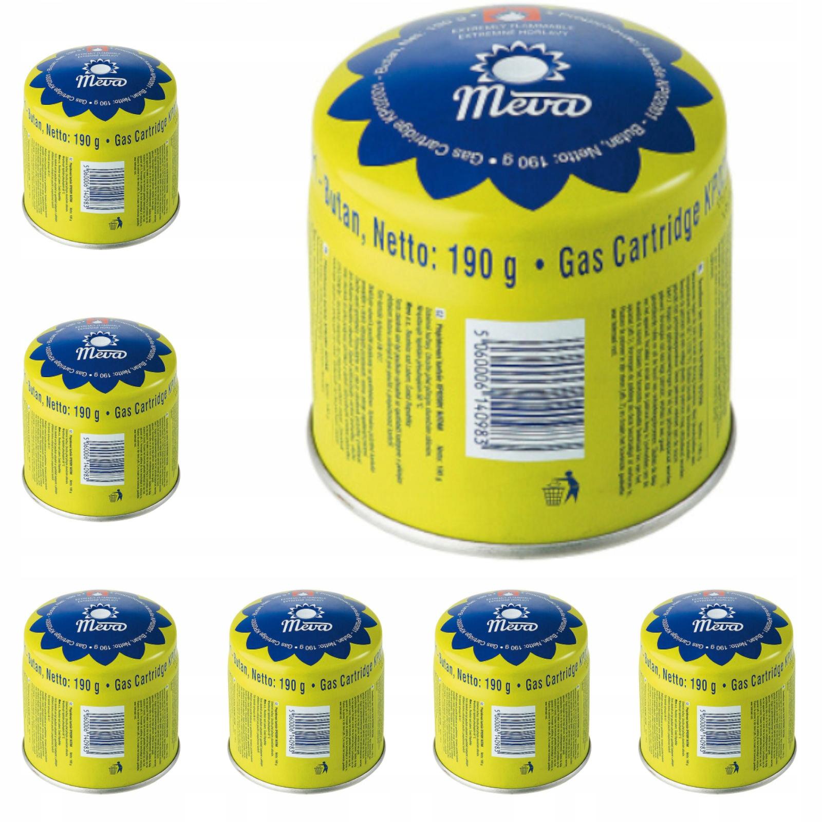 Dvojplášťový spotrebic Zásobníkov Plynu Nakłuwane 48 x 190 g MEVA