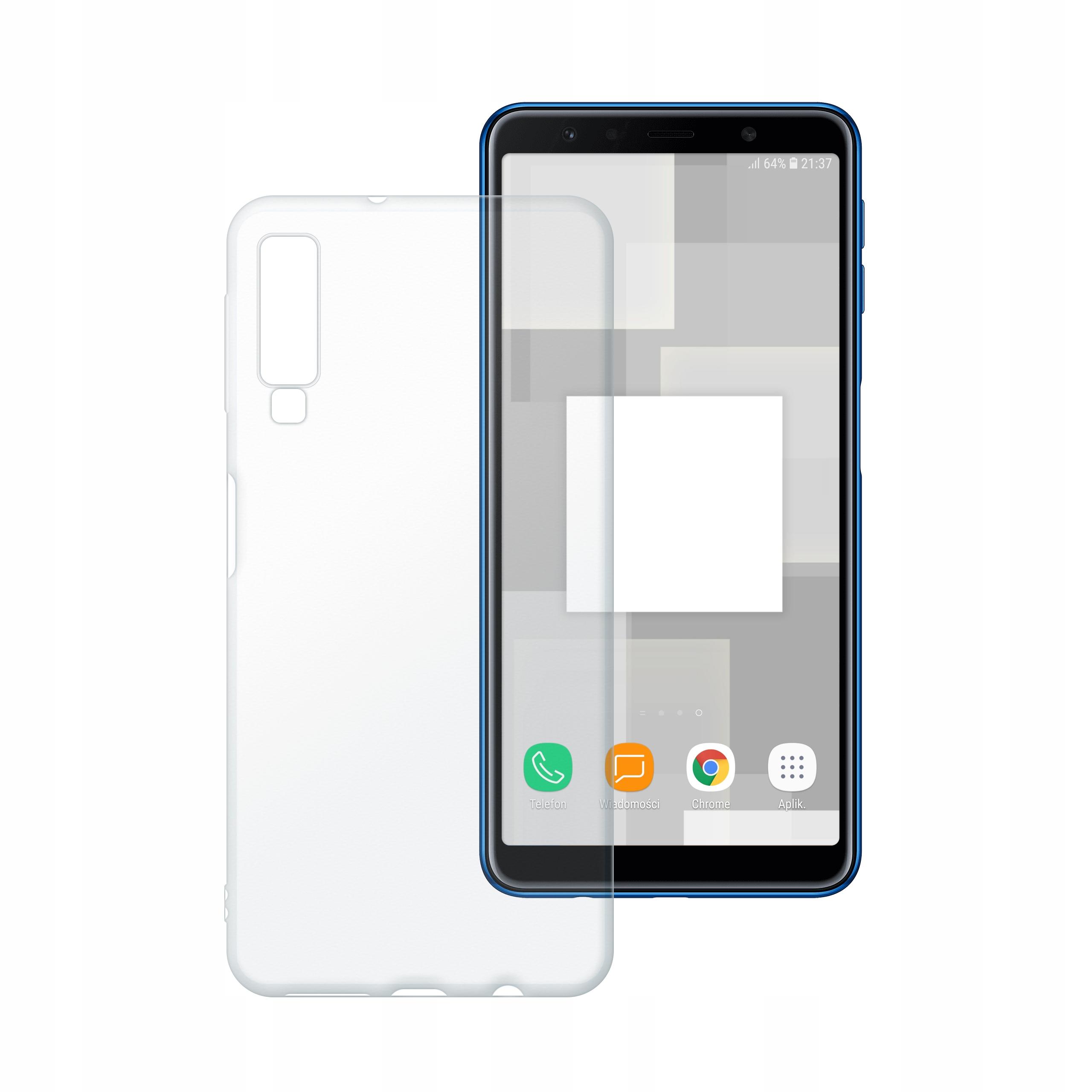 Etui silikonowe Polski Banan do Samsung A7 2018