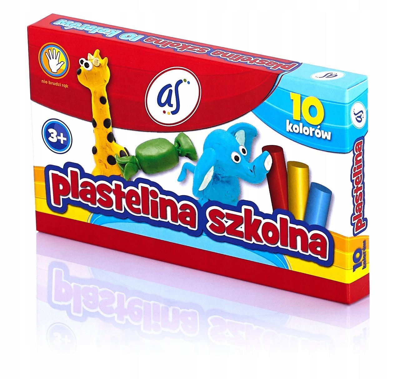 Купить Пластилин школьная оригинал, КАК ASTRA 10 кол S048 на Otpravka - цены и фото - доставка из Польши и стран Европы в Украину.