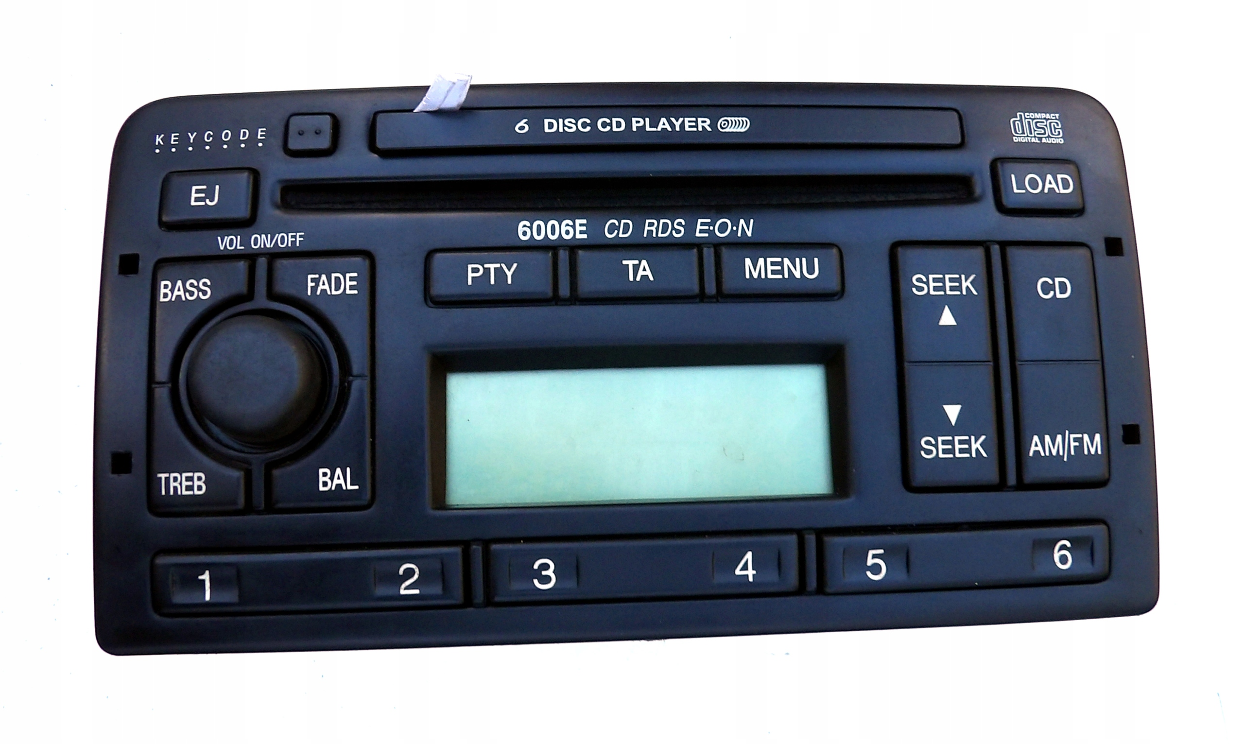 ford mondeo focus fiest радио 6cd 6006e cd-чейнджер