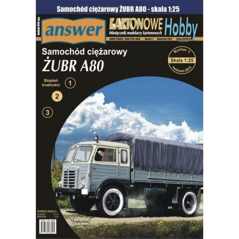 Odpoveď 1/12 - Truck Bison A80 1:25