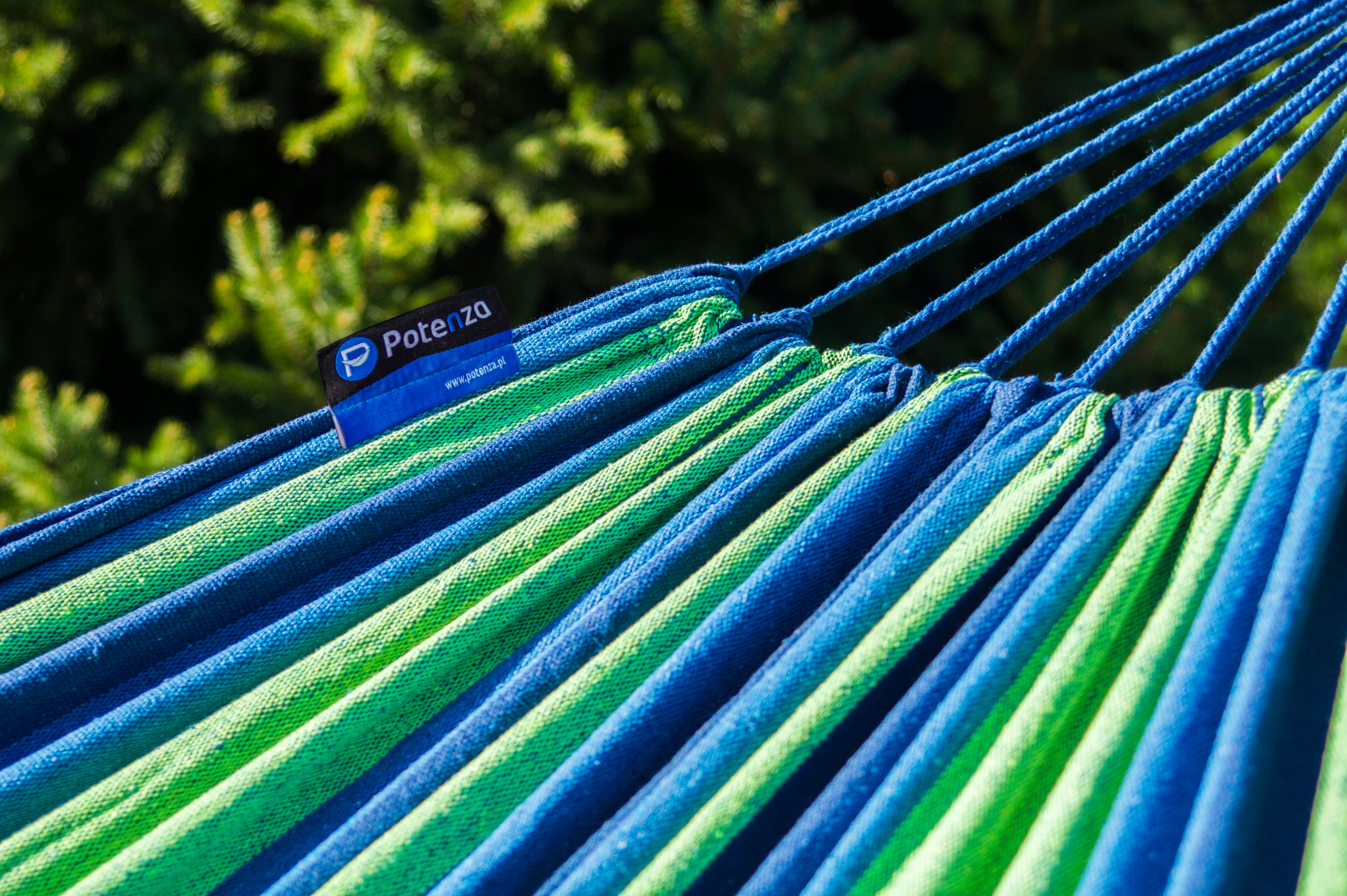 Oceľový rám POTENZA 220 kg + hojdacia sieť 220x160 POĽSKO Dĺžka (dlhšia strana) 350 cm