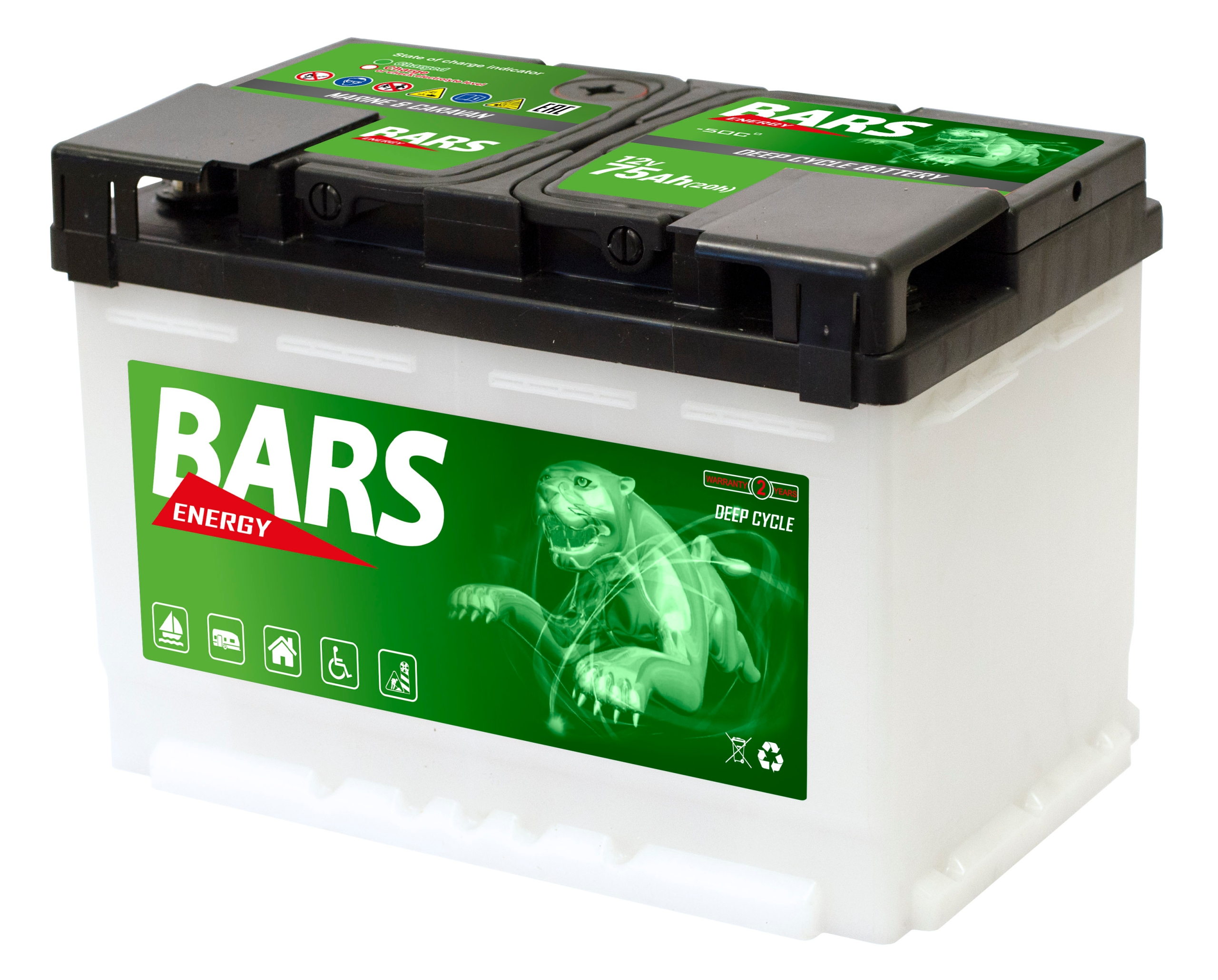 KYSELINA batérie PRE LODE - mobile, al.100Ah