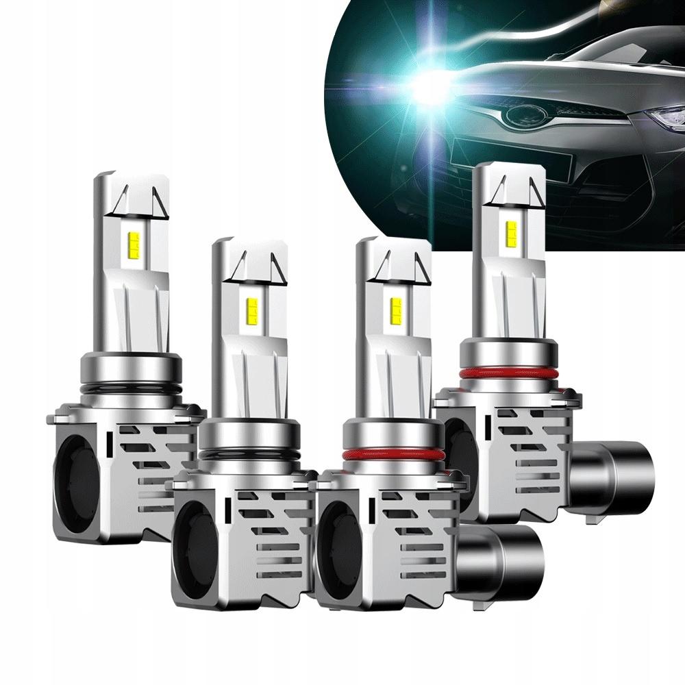 Светодиодные лампы HB3 9005 24000lm CanBus 9-30V Titanium