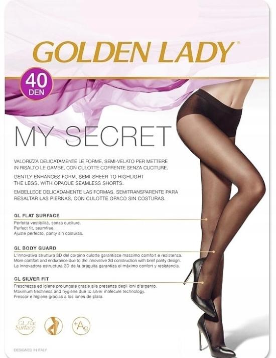 Golden Lady My Secret 40 Den Rajstopy Damskie R:4