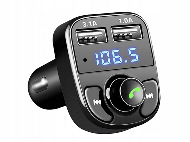 FM MP3 ПЕРЕДАТЧИК BLUETOOTH HANDSFREE KIT
