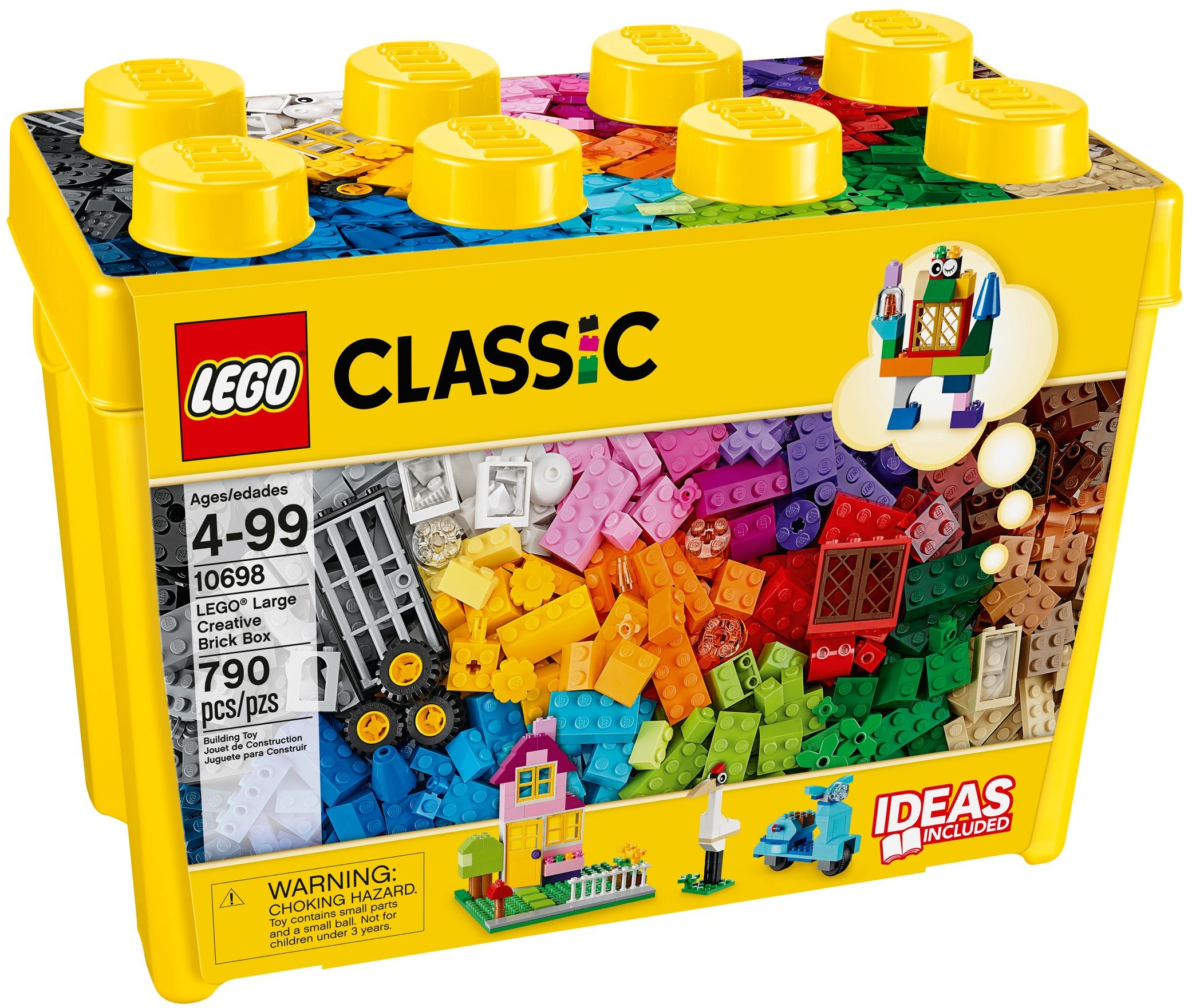 LEGO CLASSIC Kreatywne Duże Pudełko 10698
