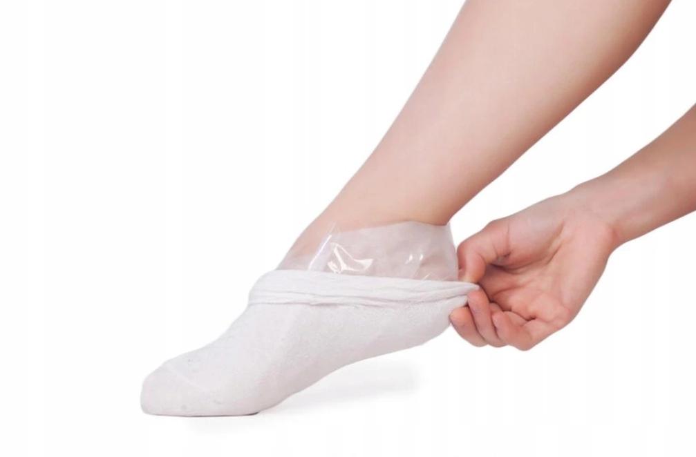 Ponožky vystrašia hladká koža peeling