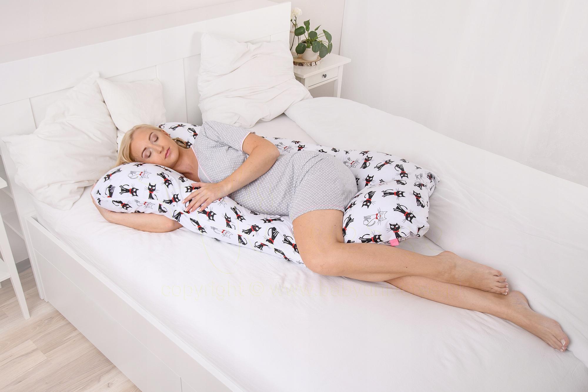 Купить Подушка для беременных круассан для сна и кормления Тип У на Otpravka - цены и фото - доставка из Польши и стран Европы в Украину.