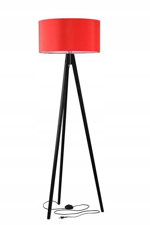 Lampa Drevený Statív-IDA kábel, skryté v nohe