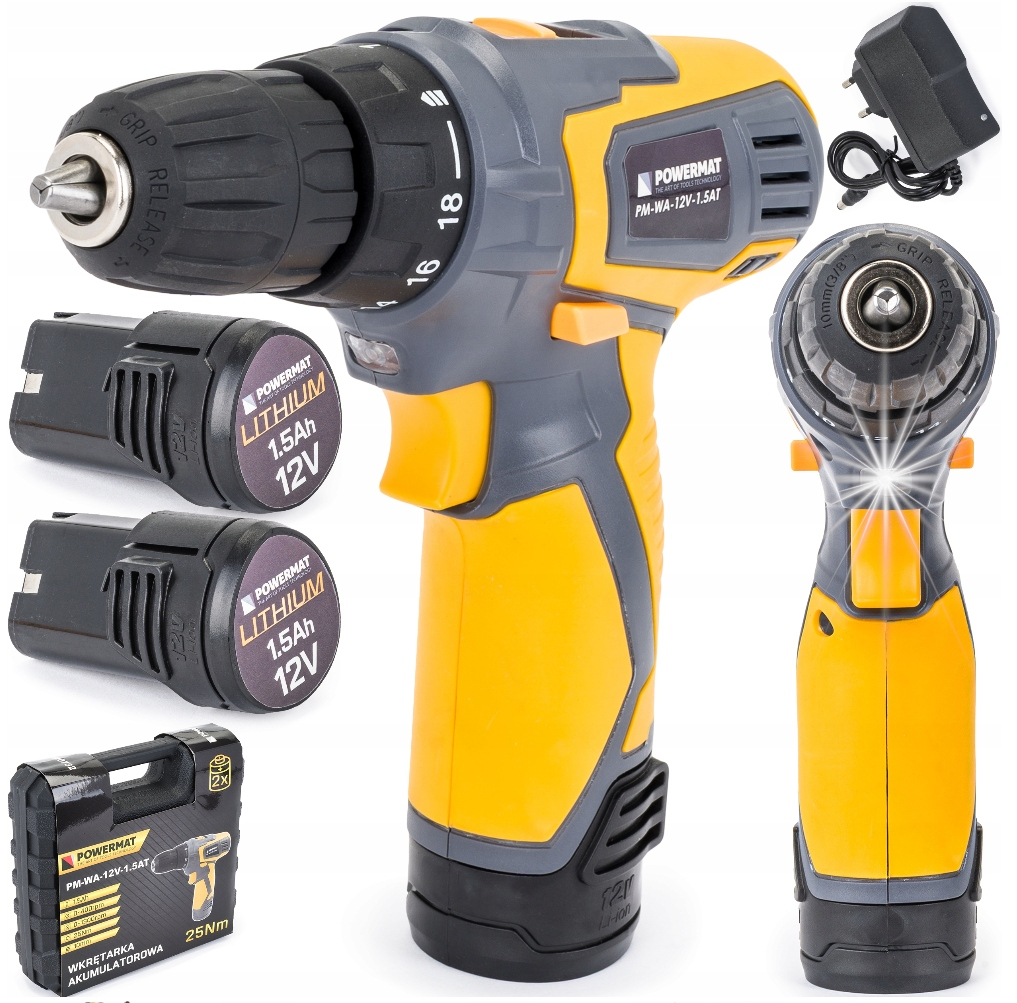 Аккумуляторная отвертка Drill LI-I 2x1.5Ah 12V