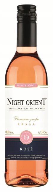 Wino bezalkoholowe Różowe Night Orient Rose 0% 0,7