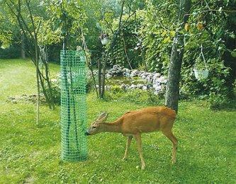 Siatka ogrodzeniowa na KRETY 0.40x50m ZIELONA PCV Wysokość 40 cm