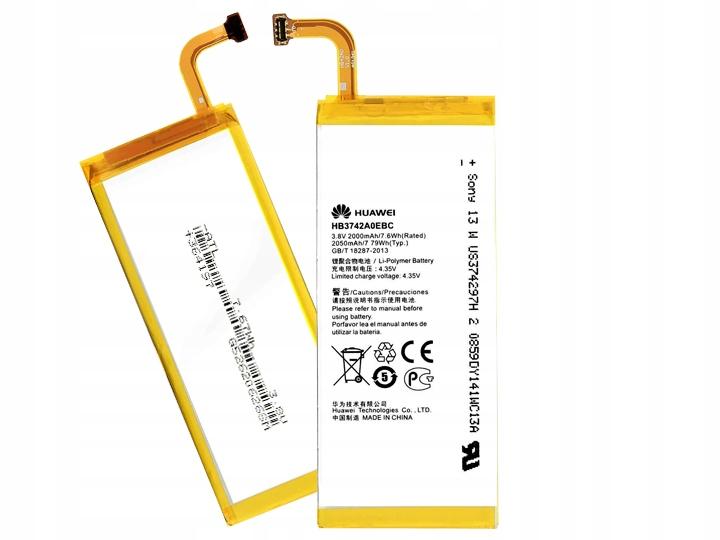Oryginalna Bateria Huawei HB3742A0EBC G6 I P7 mini