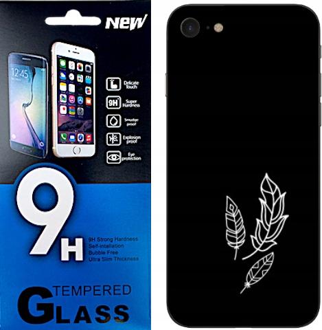 100 wzorów Etui Matt Apple Iphone 7/8 Plecki+szkło