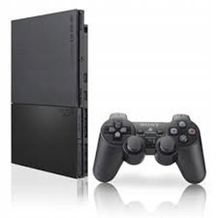 PlayStation 2 Slim + Pad + Hra Set
