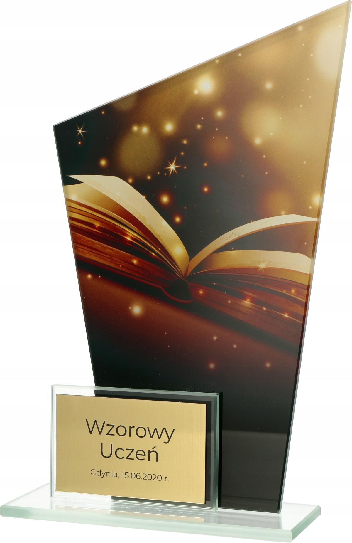 Купить СТАТУЭТКА СТЕКЛЯННАЯ ОБРАЗОВАНИЕ УЧЕНИК металлическийВысота СМ на Eurozakup - цены и фото - доставка из Польши и стран Европы в Украину.