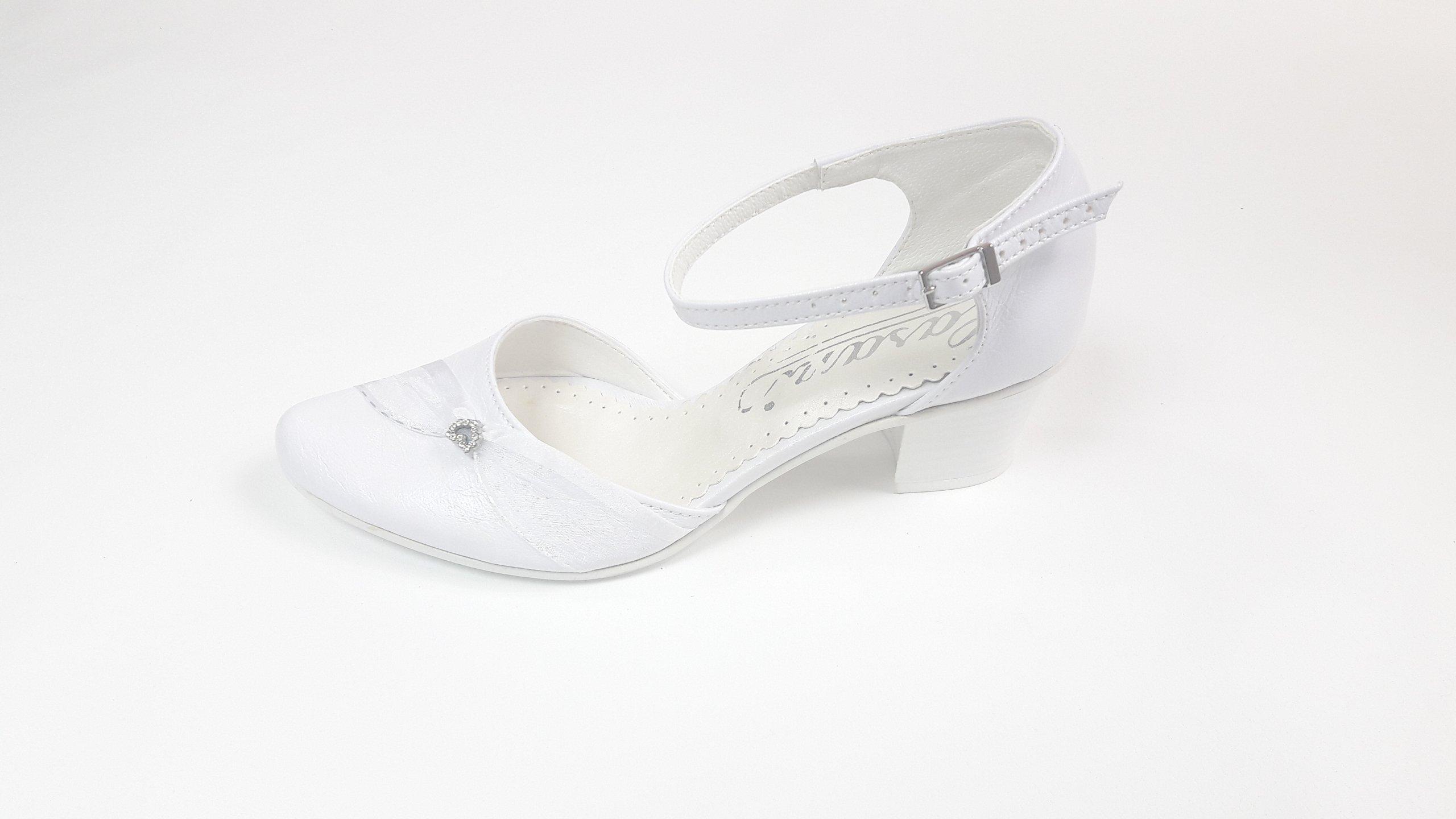 43f1ff48 buty damskie obuwie ślubne białe ślub 35 komunia 7235209945 - Allegro.pl