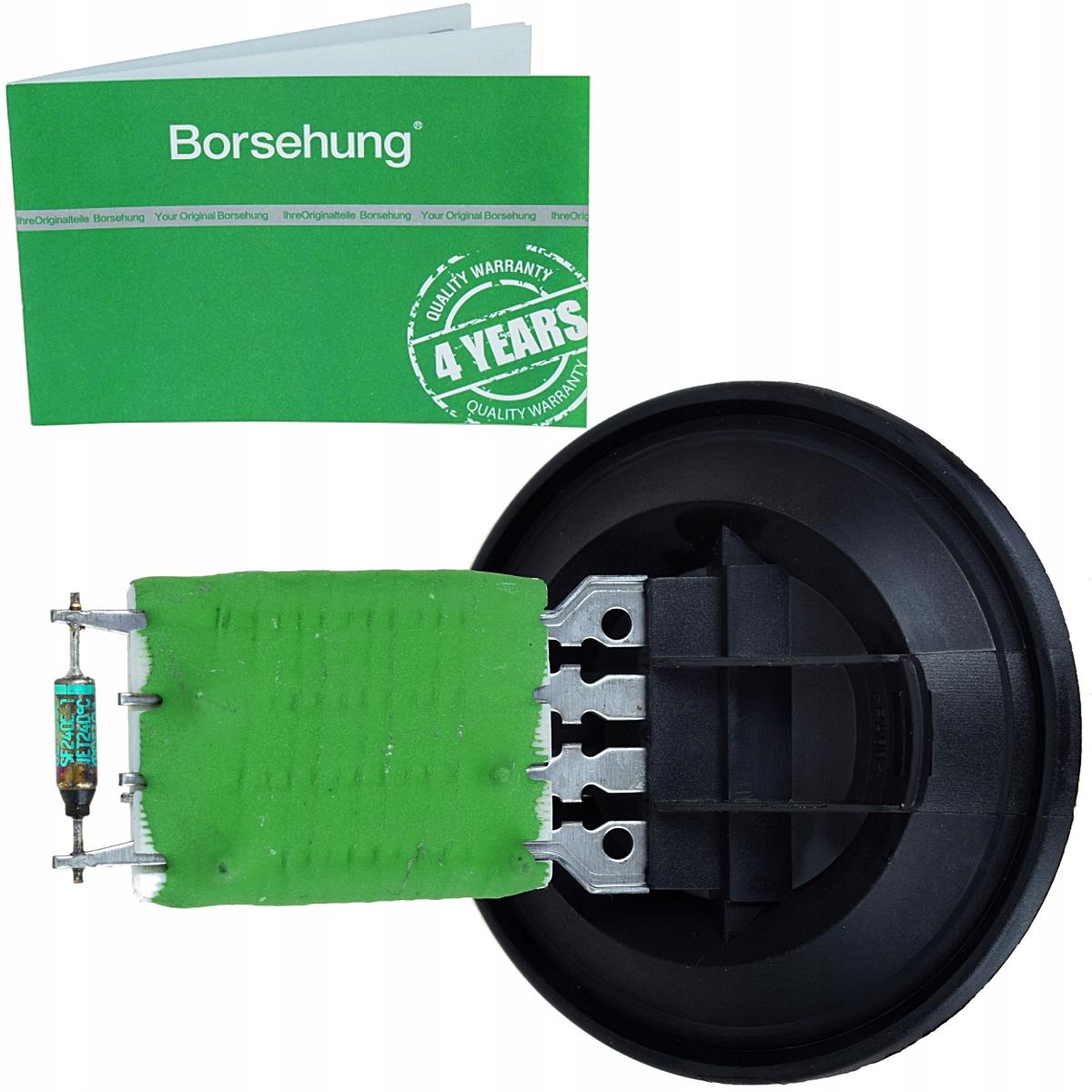 резистор воздуходувки нагревателя skoda fabia i 1 6y