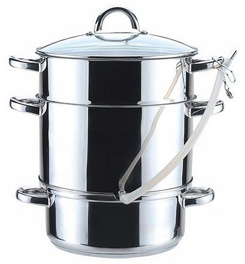 Sokownik Pan tlak Sporák 8 L 26 cm indukčné plynu [T825