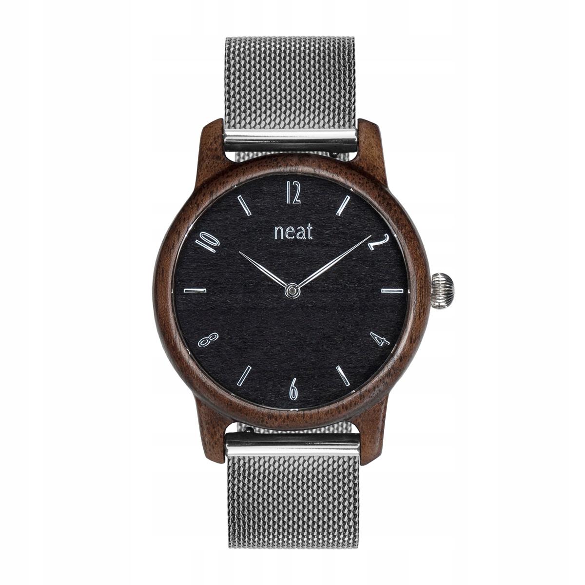 Klasyczny Damski Zegarek z Drewna