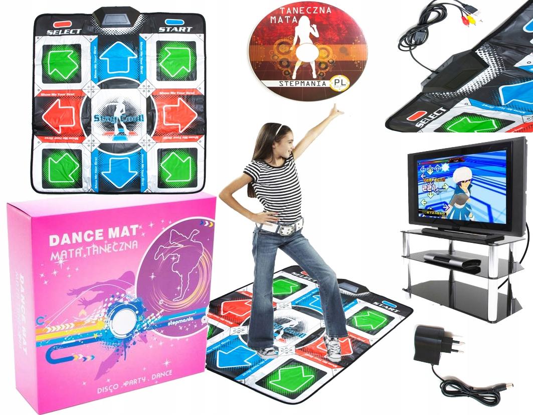 NAJNOVŠIE DANCE MAT USB / TV MENU PL